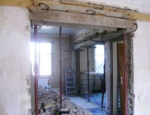 créer une ouverture dans un mur porteur | pratique.fr - Comment Faire Une Ouverture Dans Un Mur Porteur En Pierre