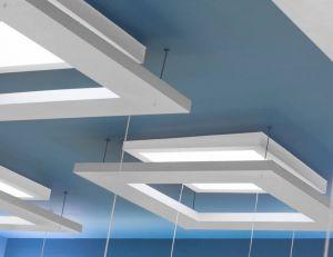 Faux plafond suspendu ou tendu: lequel choisir?