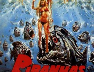 """Affiche de film """"Piranhas"""" réalisé par Joe Dante"""