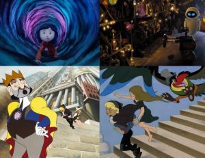 Les meilleurs films d'animation © Laika Entertainment - Pixar Animation Studios - Les films Paul Grimault
