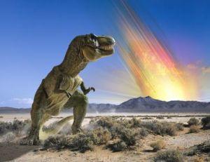 La chute de la météorite censée avoir provoqué la disparition des dinosaures