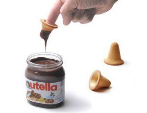 Aperçu du finger cookie pensé par le designer italien Paolo Ulian