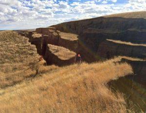 Aperçu de la fissure apparue dans le Wyoming - copyright Randy Becker