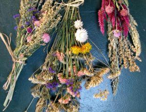 Faire sécher ses fleurs à l'air libre