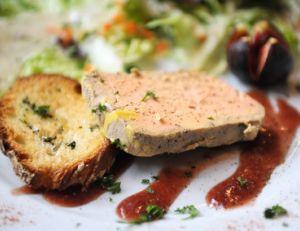 Foie gras - le pain d'épice n'est pas loin...