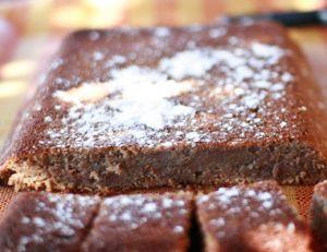 Fondant aux marrons et au chocolat