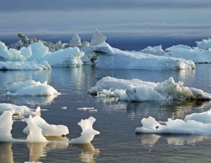 La fonte des glaces, illustrée avec précision dans le dernier Atlas de National Geographic