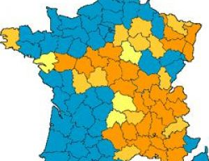 Aire de répartition des castors en France