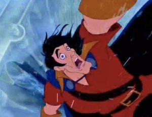 Gaston, dans La Belle et la Bête - copyright Disney