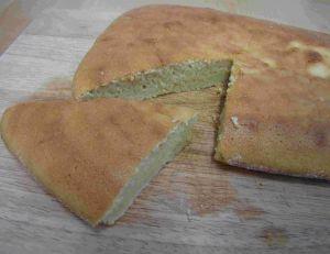Gâteau au chou-fleur