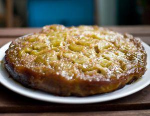 Recette du gâteau au pommes