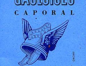 Le fameux paquet de cigarettes gauloises, le dessin réalisé par Jacno représente le casque gaulois aux ailes d'alouette