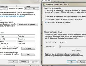 Désinfection avec Windows 7