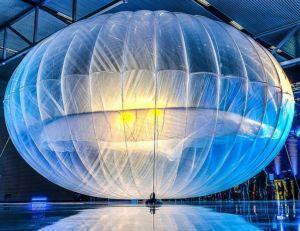 Aperçu d'un des ballons utilisés par Google dans le cadre du projet Loon - Flickr CC. / iLighter