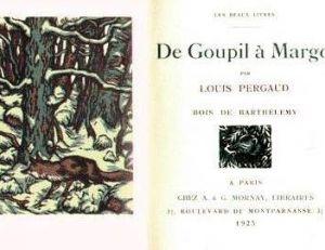 """""""De Goupil à Margot"""", prix Goncourt 1910"""
