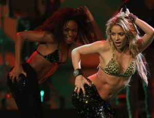 Shakira, célèbre chanteuse de variété internationale