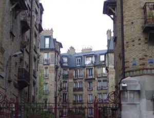 Un HLM dans le 13e arrondissement de Paris - Copyright © 2005 David Monniaux