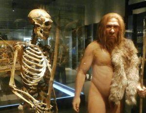 Représentation de l'homme de Néandertal -©WikimediaCC. / Photaro