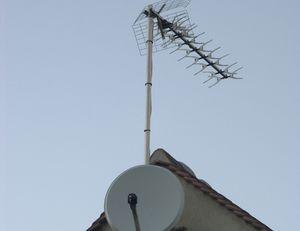 Installation d'une parabole