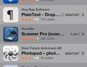 Téléchargez Dropbox sur l'App Store