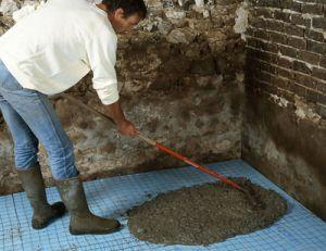 Isolation thermique des sols d'une maison