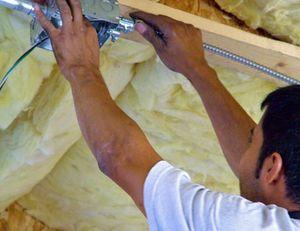 Isolation thermique de la toiture d'une maison