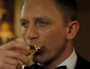 Outre le Martini, James Bond est aussi à ses heures un fin gourmet...