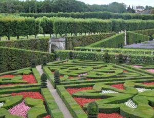 Exemple de jardin à la française : le Jardin de Villandry