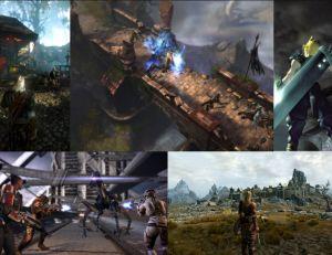 Les meilleurs jeux de rôle © Atari - Blizzard - Square Enix - Bioware  - Bethesda