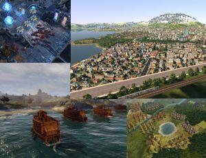 Les meilleurs jeux de stratégie - © Blizzard - © Monte Cristo - © Sega - © 2K Games