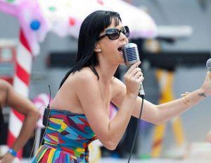 Katy Perry lors d'un concert en 2015 - Creative Commons / Jeff Denberg