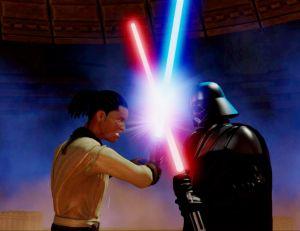 Kinect Star Wars - © LucasArts