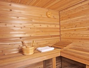 saunas installation d 39 un sauna en kit. Black Bedroom Furniture Sets. Home Design Ideas