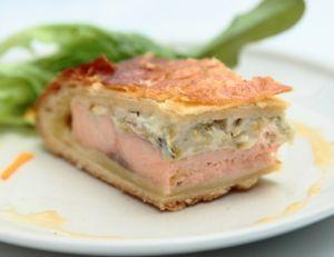 Koulibiac ou coulibiac de saumon