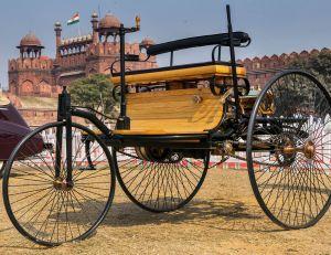 Cette Benz de 1886 est la première automobile à pétrole de l'histoire