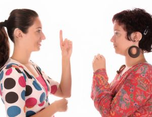 Apprendre le langage des signes
