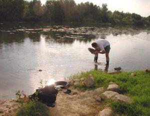 Le Gardon, une rivière connue aussi pour ses chercheurs d'or