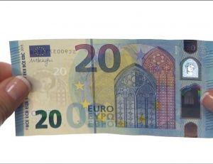 Le nouveau billet de 20 euros dévoilé par la Banque de France