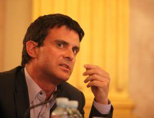 Le premier ministre Manuel Valls - Fondapol CC.