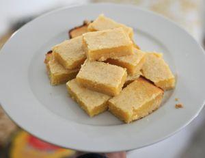 Carrés citron ou lemon bars