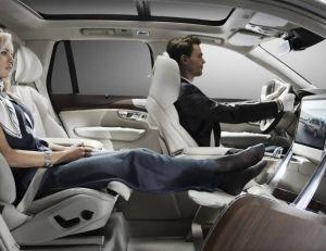 Vue du Lounge console concept de Volvo - copyright Volvo
