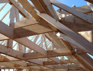 La construction d'une maison en bois