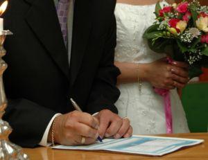Le mariage civil