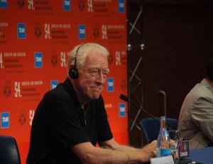 Max Von Sydow lors d'une conférence de presse en Espagne en 2005 - wikimedia / Mario Antonio Pena Zapateria