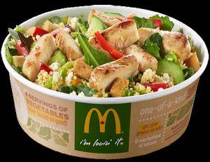 Les salades McDo s'avèrent parfois plus grasses qu'un burger (surtout aux États-Unis)