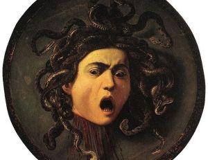 Méduse, le Caravage, Galerie des Offices, Florence