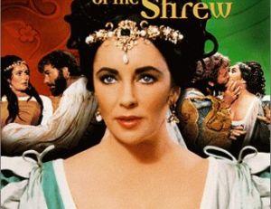 Elizabeth Taylor dans La Mégère Apprivoisée de Shakespeare.
