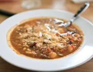 Recette du minestrone italien