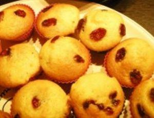 Mini cakes aux cranberries