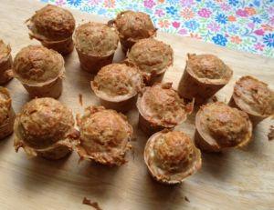 Recette des mini-cakes au gruyère
